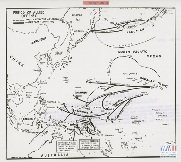 Official U S Navy Map Of Western Pacific The Digital - Us maps navy